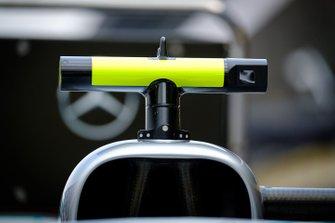 Mercedes AMG F1 W10, dettaglio della fotocamera
