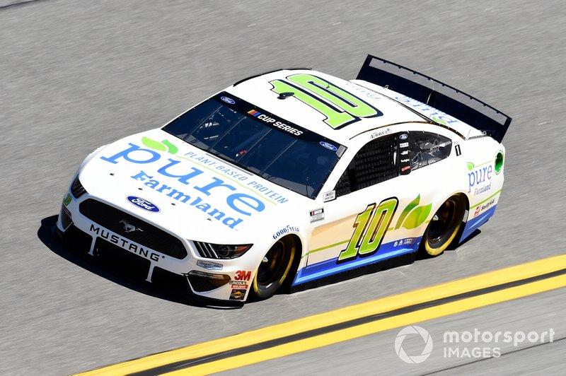 Aric Almirola, Stewart-Haas Racing, Ford Mustang Pure Farmland