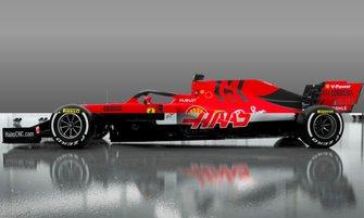 Ferrari SF90 2019- Haas VF20 2020