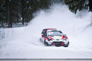 Jari-Matti Latvala, Juho Hanninen, Toyota Yaris WRC