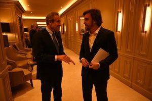 Jacky Ickx, Fernando Alonso