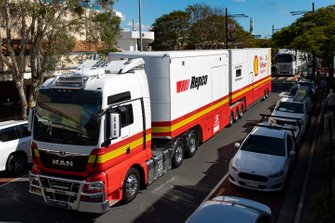 DJR Team Penske transporter