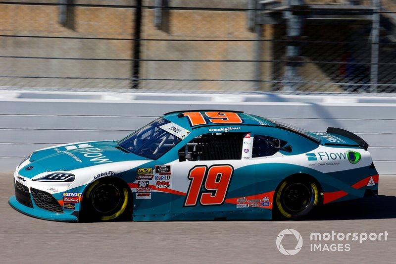 Brandon Jones, Joe Gibbs Racing, Toyota Supra Flow