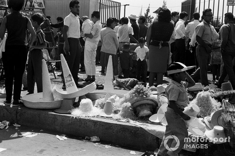 Sombrero e cappelli al GP del Messico del 1966