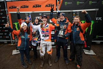 Jeffrey Herlings, Red Bull KTM Factory Racing met zijn team