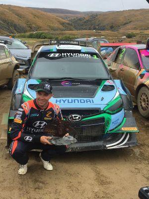 Hayden Paddon, Hyundai i20 AP4++