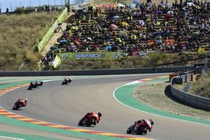 Renn-Action beim GP Aragonien 2021 im Motorland Aragon in Alcaniz