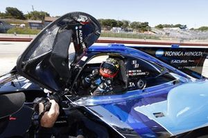 Le vainqueur du trophée de la pole position Motul #10: Konica Minolta Acura ARX-05 Acura DPi, DPi: Filipe Albuquerque
