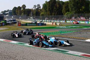 Richard Verschoor, MP Motorsport Marcus Armstrong, Dams Bent Viscaal, Trident