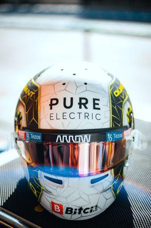 Special helmet of Lando Norris, McLaren