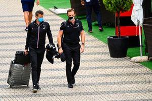 Marcin Budkowski, Executive Director, Alpine F1, and Laurent Rossi, CEO, Alpine F1