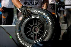 Patricio O'Ward, miembro del equipo Arrow McLaren SP Chevrolet