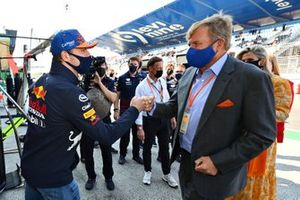 Max Verstappen, Red Bull Racing, en Koning Willem-Alexander