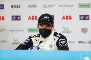 Edoardo Mortara, Venturi Racing, 2nd position, in the Press Conference