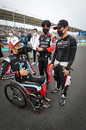 Takuma Aoki, Association Srt41, Kamui Kobayashi, Toyota Gazoo Racing