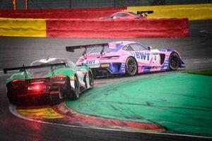 ##4 HRT Mercedes-AMG GT3: Maro Engel, Luca Stolz, Vincent Abril, #38 JOTA McLaren 720 S GT3: Ben Barnicoat, Oliver Wilkinson, Rob Bell