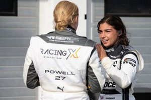 Alice Powell and Jamie Chadwick in Parc Ferme