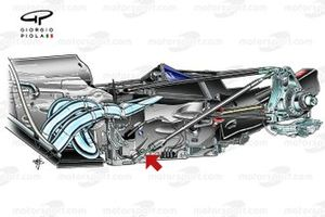 Red Bull RB5 gearbox and suspension detail