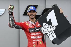 Polesitter Francesco Bagnaia, Ducati Team