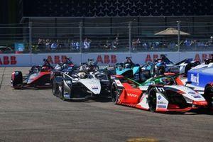 Lucas Di Grassi, Audi Sport ABT Schaeffler, Audi e-tron FE07, Edoardo Mortara, Venturi Racing, Silver Arrow 02, Sebastien Buemi, Nissan e.Dams, Nissan IMO3