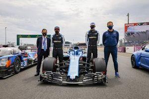Fernando Alonso, Louis Rossi, Esteban Ocon, Alpine Pierre Fillon, Presidente ACO