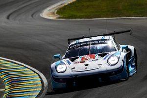 #56 Team Project 1 Porsche 911 RSR - 19 LMGTE Am of Egidio Perfetti, Matteo Cairoli, Riccardo Pera