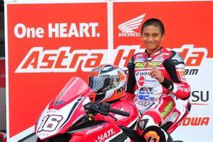 Mario Suryo Aji, Astra Honda Racing School