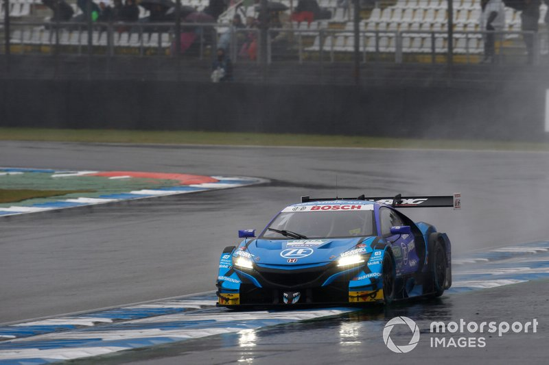 Jenson Button, Team Kunimitsu Honda, Honda NSX Super-GT