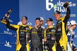 Podium: #29 Racing Team Nederland Oreca 07 - Gibson: Frits van Eerd, Giedo van der Garde, Nyck de Vries