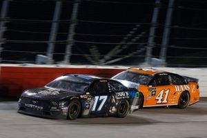 Ricky Stenhouse Jr., Roush Fenway Racing, Ford Mustang Dog's Most Wanted Daniel Suarez, Stewart-Haas Racing, Ford Mustang Haas Automation