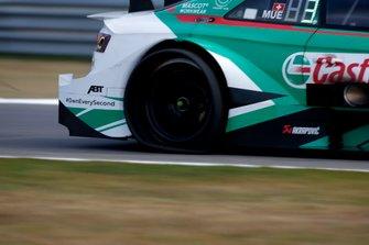 flat tire, Nico Müller, Audi Sport Team Abt Sportsline, Audi RS 5 DTM
