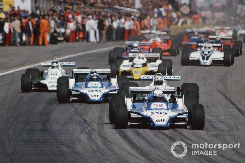 1980 Didier Pironi, Ligier