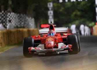 Une Ferrari de Michael Schumacher