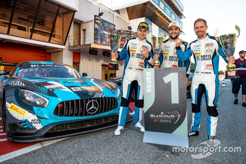 Blancpain GT Silver Cup, pilotos: Nico Bastian
