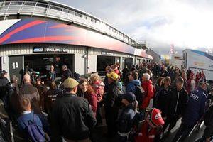 Fan del BTCC alla gara 2 di Silverstone