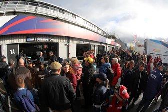 BTCC Fans at Silverstone