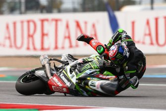 Crash van Leon Haslam, Kawasaki Racing Team