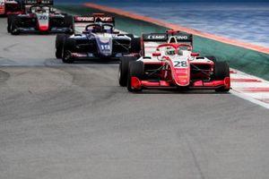 Robert Shwartzman, PREMA Racing and Niko Kari, Trident