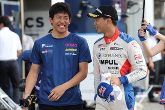 中山雄一(UOMO SUNOCO TEAM LEMANS)、平川亮(ITOCHU ENEX TEAM IMPUL)