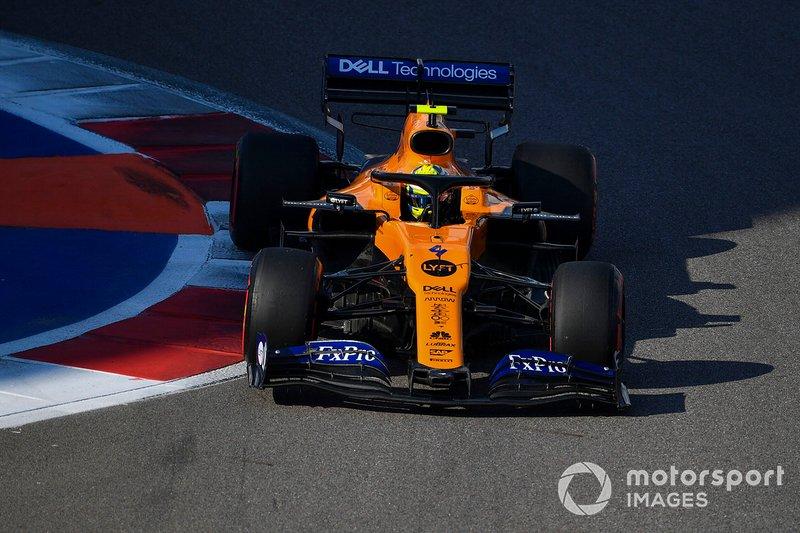 Lando Norris, McLaren MCL34: +57.749