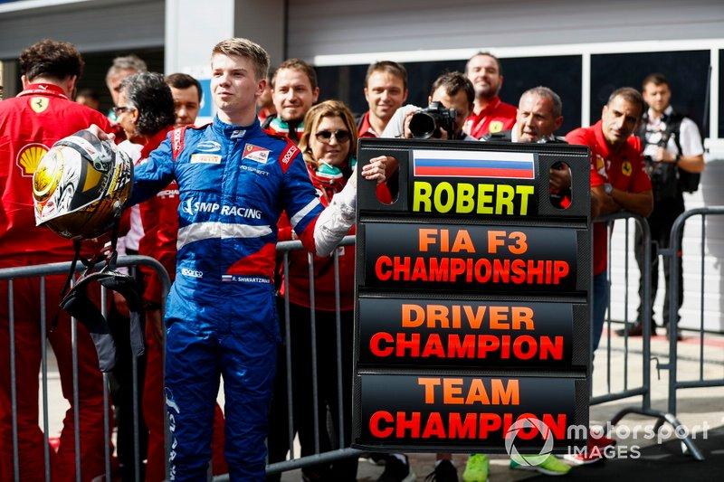 El campeón de la FIA F3 2019: Robert Shwartzman, PREMA Racing