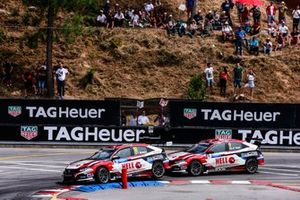 Tiago Monteiro, KCMG Honda Civic Type R TCR, Attila Tassi, KCMG Honda Civic Type R TCR