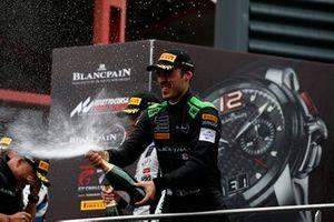 Podium Silver: third place #6 BLACK FALCON Mercedes-AMG GT3: Gabriele Piana