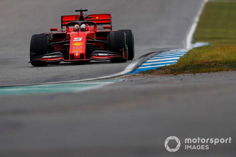 2. Sebastian Vettel, Ferrari SF90