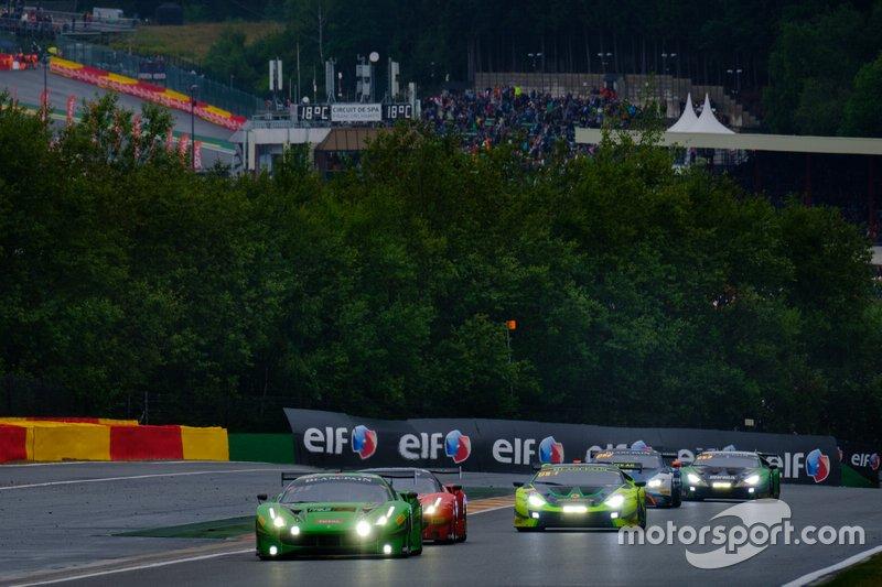 #33 Rinaldi Racing Ferrari 488 GT3: Hendrik Still, Christian Hook, Manuel Lauck, Alexander Mattschull
