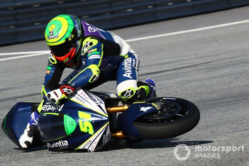 Caída de Eric Granado, Avintia Racing