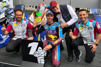 Race winner Mike di Meglio, Marc VDS Racing with Marc van der Straten