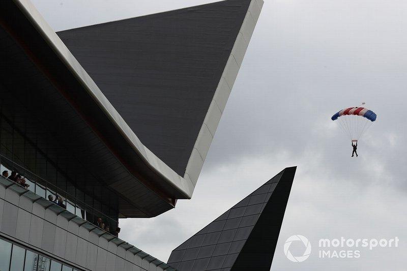Los halcones aterrizan en Silverstone