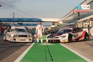Timo Glock, BMW Team RMG, mit BMW E30 DTM und BMW M4 DTM