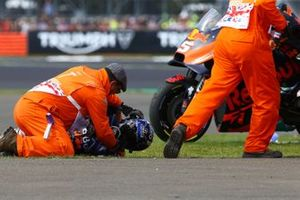Miguel Oliveira, Red Bull KTM Tech 3 crashes
